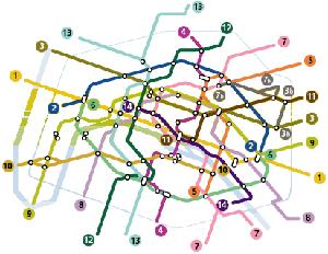 Subway Map Rent.Rent In Paris Paris Maps Subway Rer Localisation Monuments